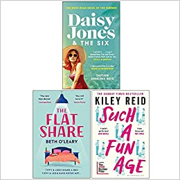 Daisy Jones and The Six / The Flatshare / Such a Fun Age by Taylor Jenkins Reid, Beth O'Leary, Kiley Reid