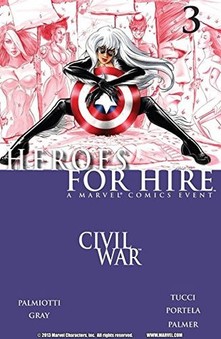 Heroes For Hire #3 by Jimmy Palmiotti, Billy Tucci, Francis Portela, Justin Gray