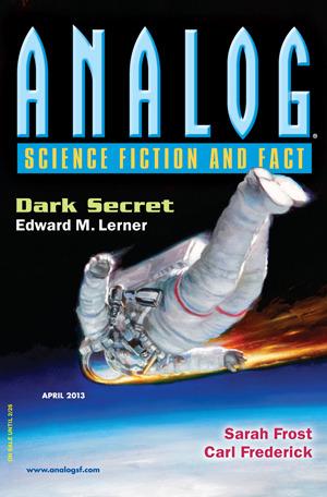 Analog Science Fiction and Fact, April 2013 by Brad Aiken, Edward M. Lerner, Carl Frederick, Jennifer R. Povey, Trevor Quachri, Kyle Kirkland, Seth Frost