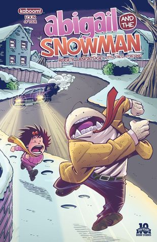 Abigail and the Snowman #4 by Roger Langridge