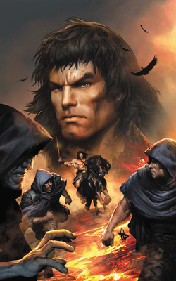 Conan: Exodus and Other Tales by Frank Tieri, Roy Thomas, Esad Ribic