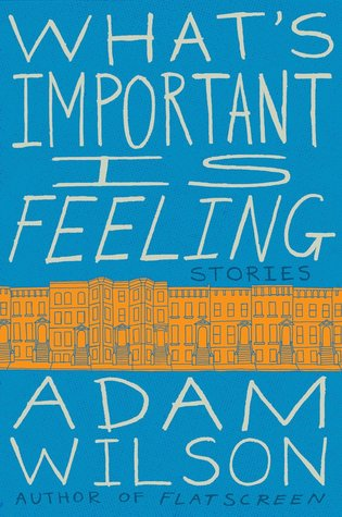 What's Important Is Feeling: Stories by Adam Wilson