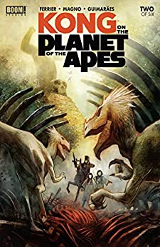 Kong on the Planet of the Apes #2 (of 6) by Ryan Ferrier
