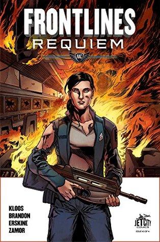 Frontlines: Requiem #3 (of 4) by Marko Kloos, Ivan Brandon, Gary Erskine, Yel Zamor
