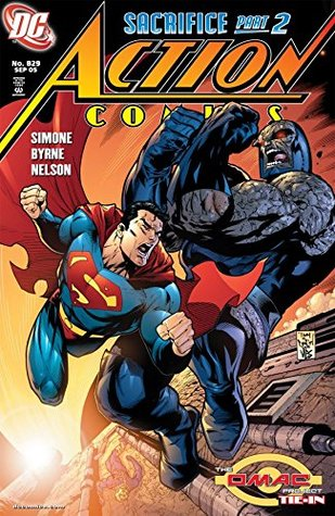 Action Comics (1938-2011) #829 by Gail Simone, Nelson, Tony S. Daniel, John Byrne