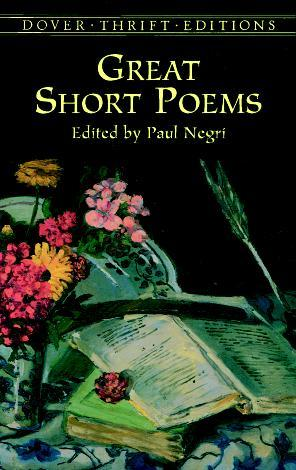 Great Short Poems by Paul Negri