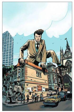 Dirk Gently's Big Holistic Graphic Novel by Tony Akins, Arvind Ethan David, Ilias Kyriazis, Chris Ryall