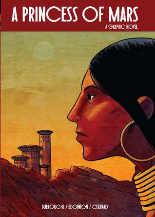 A Princess of Mars: A Graphic Novel by Edgar Rice Burroughs, I.N.J. Culbard, Ian Edginton