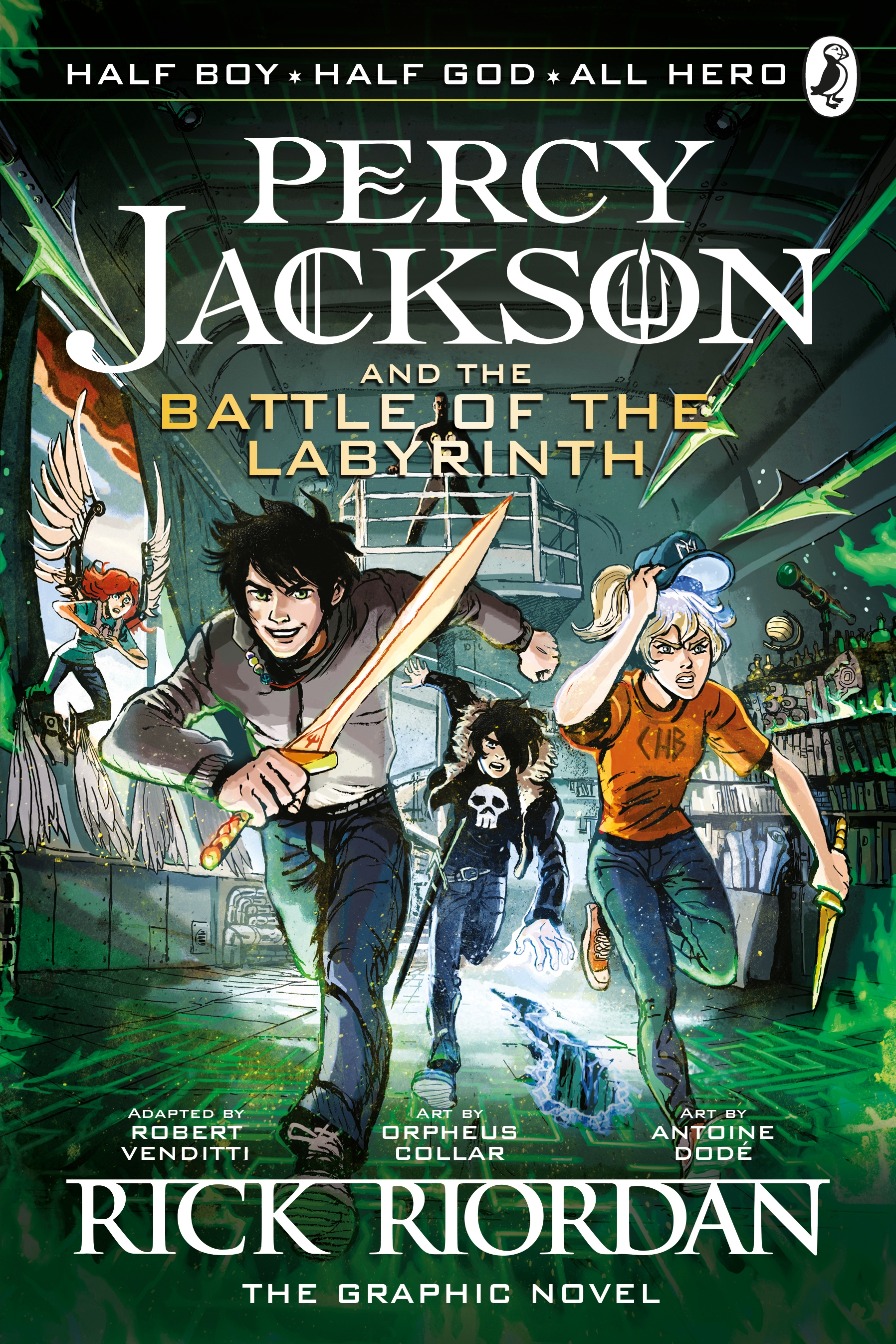 The Battle of the Labyrinth: The Graphic Novel by Robert Venditti, Rick Riordan