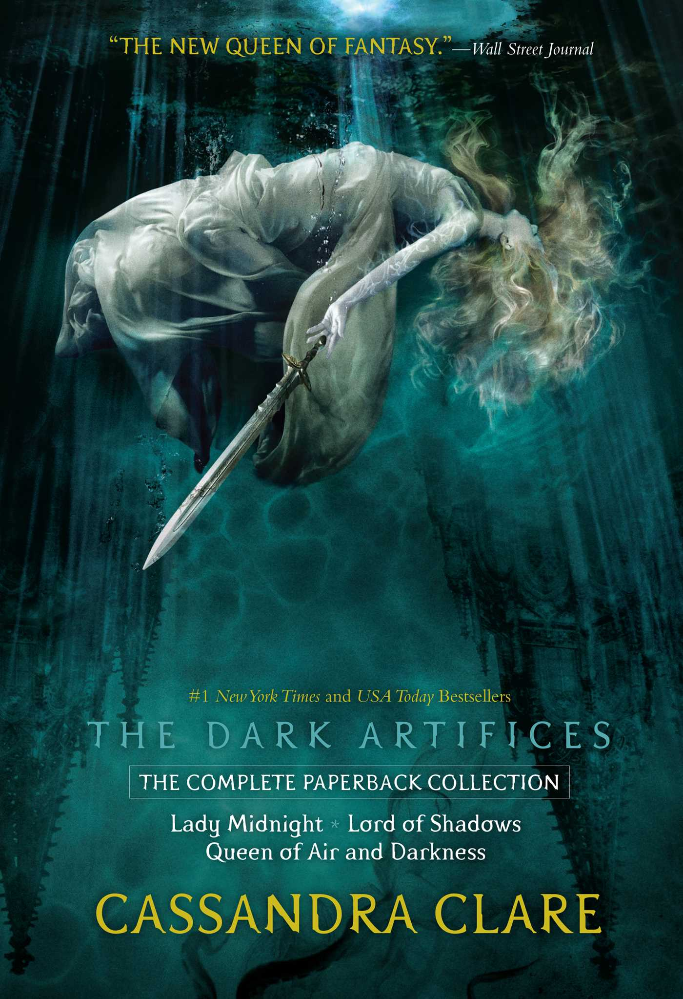 The Dark Artifices, the Complete Paperback Collection: Lady Midnight; Lord of Shadows; Queen of Air and Darkness by Cassandra Clare