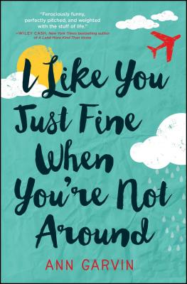 I Like You Just Fine When You're Not Around by Ann Garvin