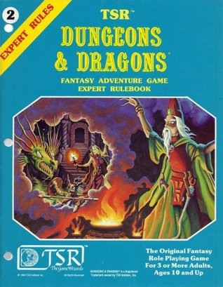 Dungeons & Dragons Fantasy Adventure Game Expert Rulebook by Steve Marsh, Erol Otus, Dave Arneson, Jeff Dee, Gary Gygax, David Zeb Cook