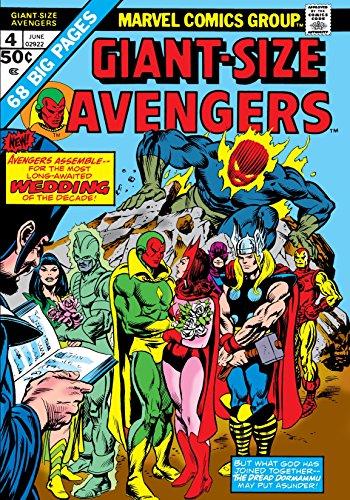 Giant-Size Avengers #4 by Steve Englehart