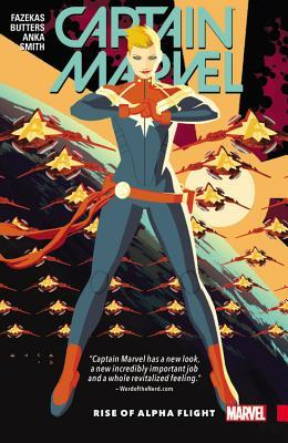 Captain Marvel, Vol. 1: Rise of Alpha Flight by Michele Fazekas, Kris Anka, Tara Butters, Felipe Smith