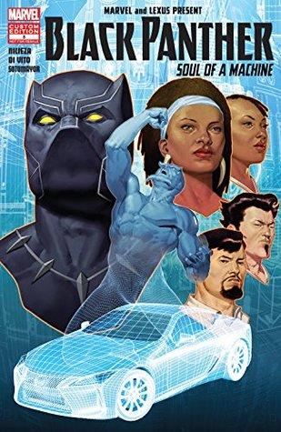 Black Panther: Soul Of A Machine #8 by Andrea Di Vito, Ariel Olivetti, Fabian Nicieza