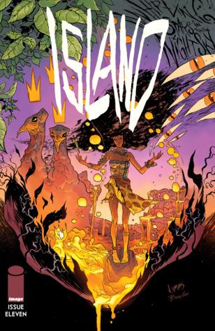 Island #11 by Brandon Graham, Malachi Ward, Joseph Bergin III, Matt Sheean, Remy B, Grim Wilkins, Robin Bougie