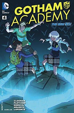 Gotham Academy #4 by Karl Kerschl, Brenden Fletcher, Becky Cloonan