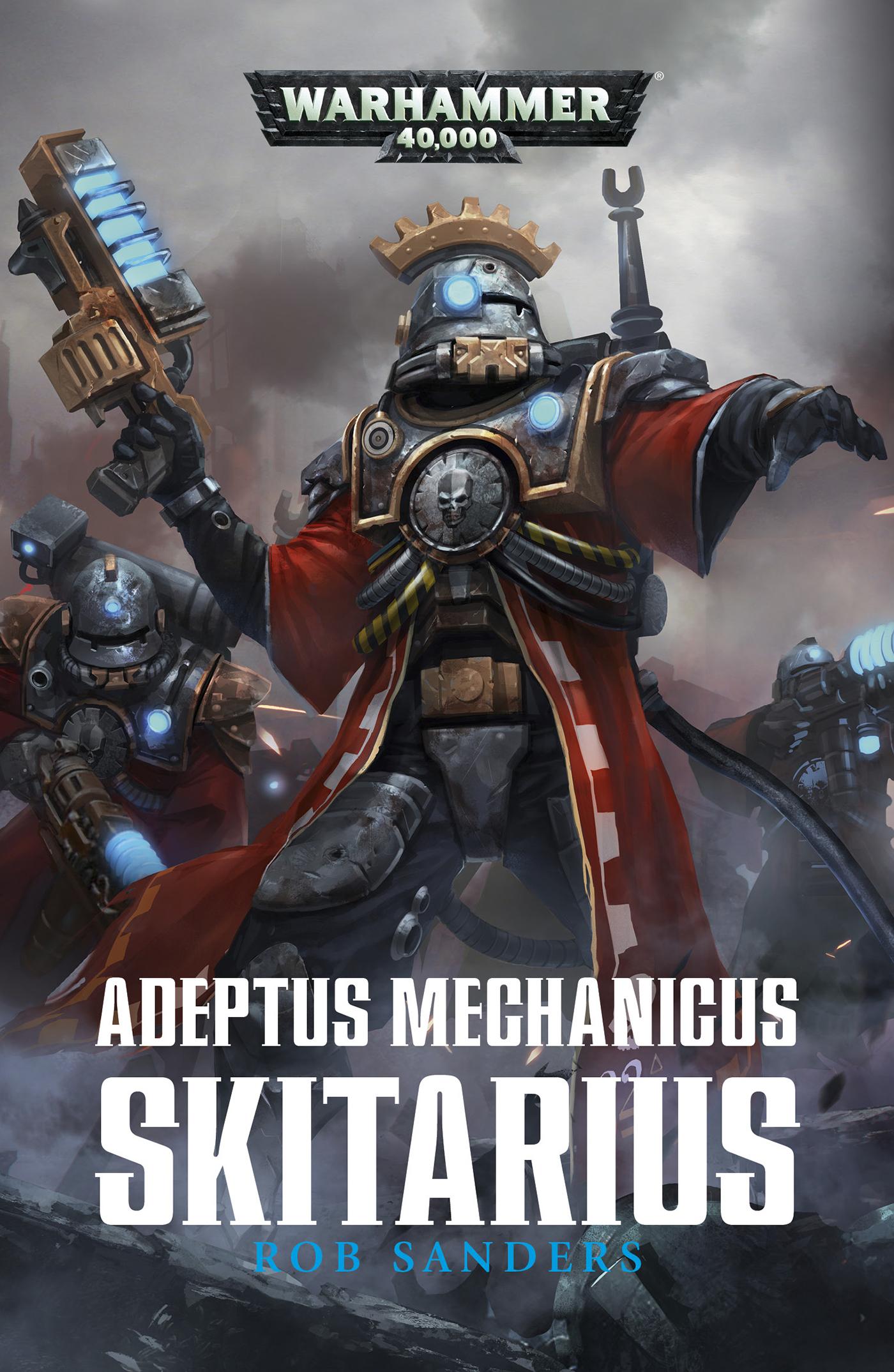 Adeptus Mechanicus: Skitarius by Rob Sanders