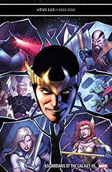 Asgardians of the Galaxy #5 by Cullen Bunn