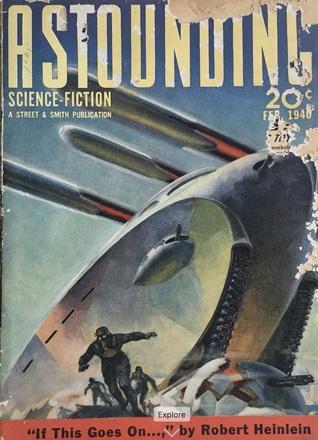 Astounding Science Fiction, February 1940 by L. Ron Hubbard, H.B. Fyfe, R.S. Richardson, Willy Ley, Norman L. Knight, Leigh Brackett, John W. Campbell Jr., Robert A. Heinlein, Harl Vincent, Ross Rocklynne