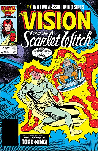 Vision and the Scarlet Witch (1985-1986) #7 by Steve Englehart