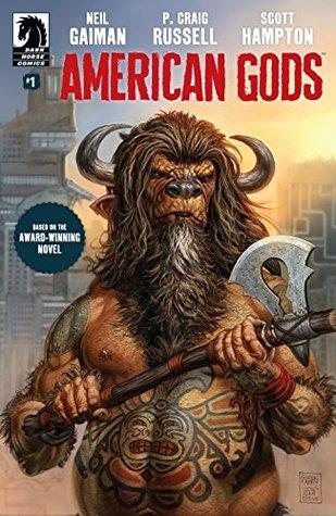 American Gods: Shadows #1 by Scott Hampton, P. Craig Russell, Neil Gaiman, Glenn Fabry
