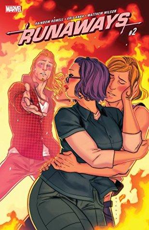 Runaways #2 by Rainbow Rowell, Kris Anka