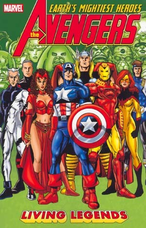 Avengers: Living Legends by Stuart Immonen, George Pérez, Kurt Busiek