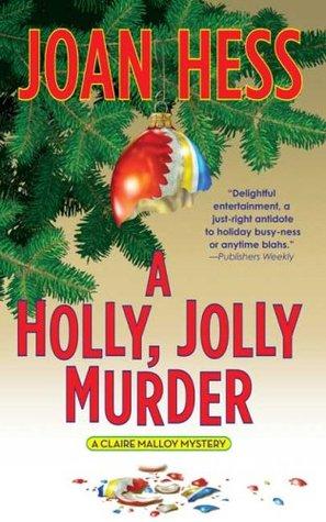 A Holly, Jolly Murder by Joan Hess