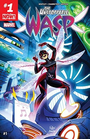 The Unstoppable Wasp #1 by Jeremy Whitley, Elsa Charretier