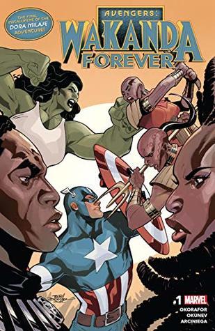 Avengers: Wakanda Forever (2018) #1 by Oleg Okunev, Terry Dodson, Nnedi Okorafor