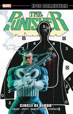 Punisher Epic Collection Vol. 2: Circle of Blood by Klaus Janson, Mike Zeck, Mike Vosburg, Mike Baron, Steven Grant, Dave Ross, Jo Duffy, Ann Nocenti