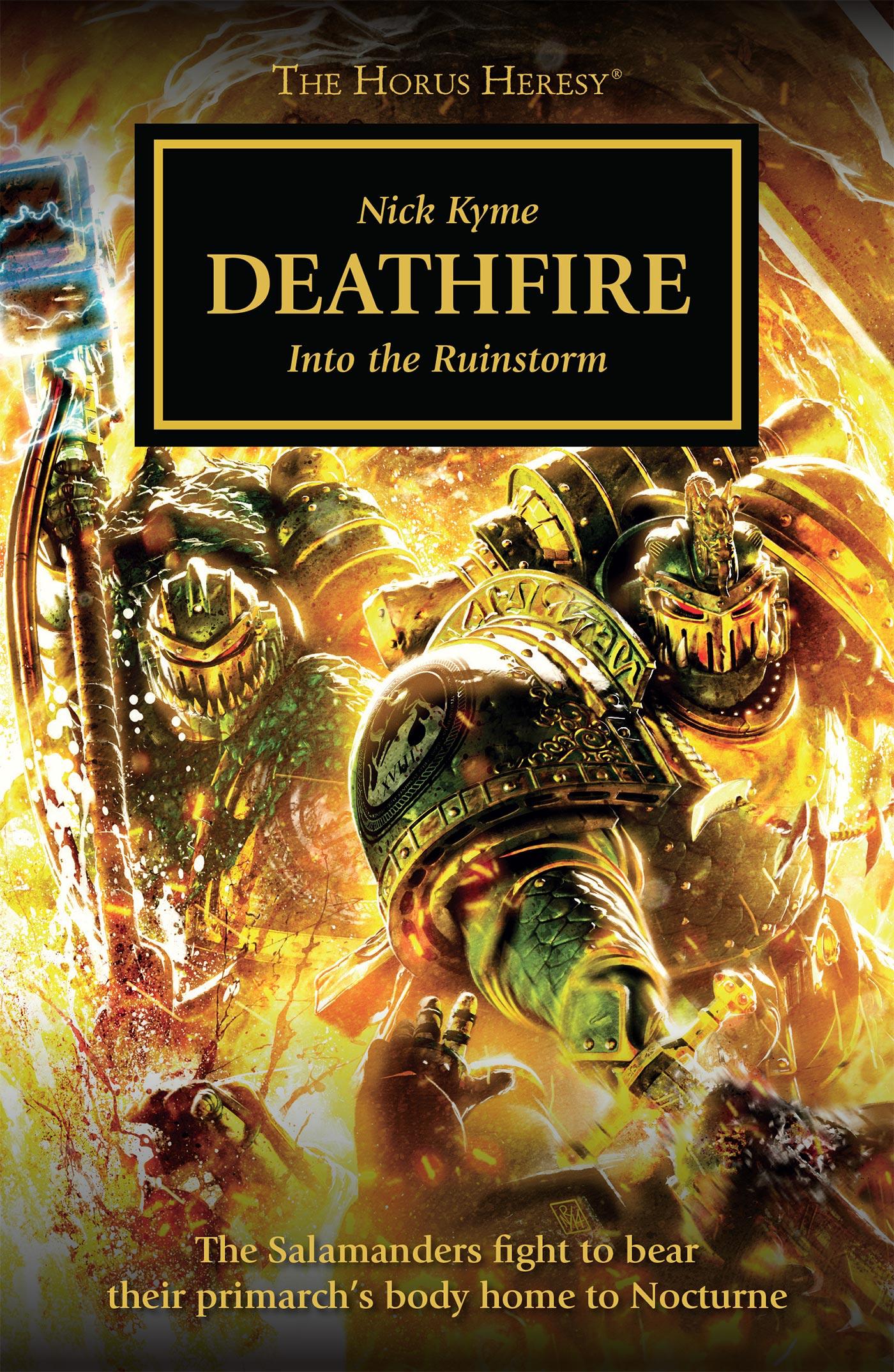 Deathfire by Nick Kyme