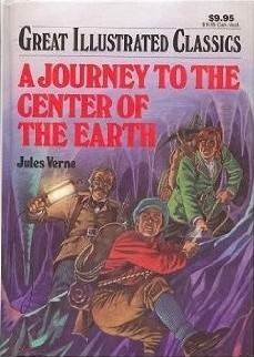 A Journey to the Center of the Earth (Great Illustrated Classics) by Howard J. Schwach, Jules Verne, Pablo Marcos Studio