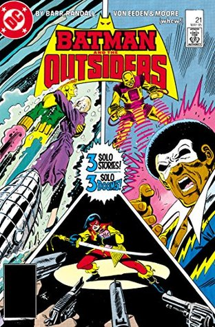 Batman and the Outsiders (1983-) #21 by Jerome Moore, Mike W. Barr