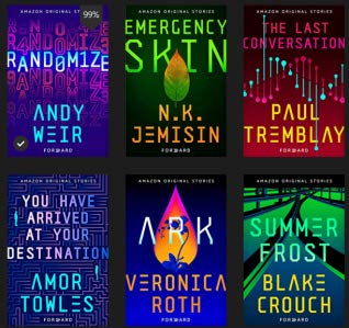 Forward Collection by Blake Crouch, N.K. Jemisin, Veronica Roth, Paul Tremblay, Amor Towles, Andy Weir