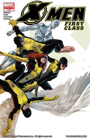 X-Men: First Class #1 by Roger Cruz, Jeff Parker, Victor Olazaba, Marko Djurdjevic