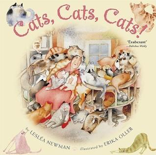 Cats, Cats, Cats! by Lesléa Newman, Erika Oller