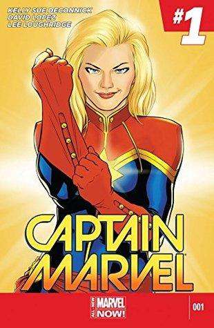 Captain Marvel (2014-2015) #1 by Lee Loughridge, Kelly Sue DeConnick, David López