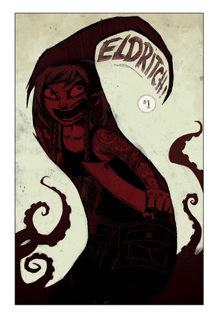 The Squirm and the Knife (Eldritch!, #1) by Aaron Alexovich, Drew Rausch