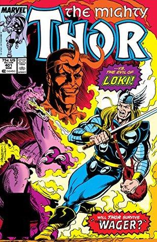 Thor (1966-1996) #401 by Randall Frenz, Rich Yanizeski, Al Milgrom