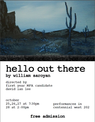 Hello Out There by William Saroyan