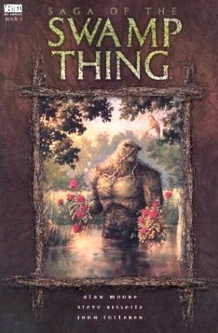 Swamp Thing, Vol. 1: Saga of the Swamp Thing by Alan Moore, Stephen R. Bissette, Rick Veitch, John Totleben, Ramsey Campbell