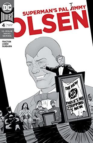 Superman's Pal Jimmy Olsen #4 by Steve Leiber, Matt Fraction