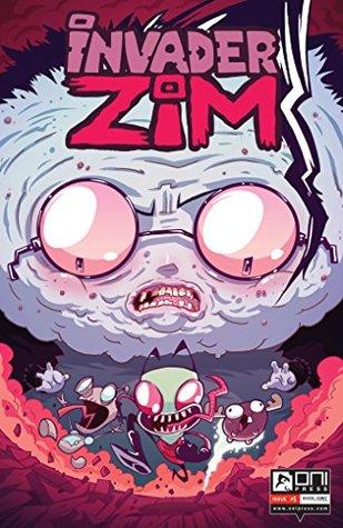 Invader Zim #1 by Aaron Alexovich, Jhonen Vásquez