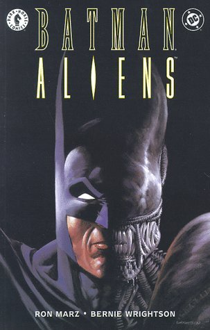 Batman/Aliens by Bernie Wrightson, Ron Marz