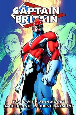Captain Britain Omnibus by Mike Carlin, Alan Moore, Jamie Delano, Alan Davis, Mike Collins, Dave Thorpe, Steve Craddock, Paul Neary, Chris Claremont