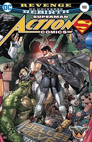 Action Comics #980 by Patrick Zircher, Tomeu Morey, Clay Mann, Dan Jurgens, Jason Wright, Hi-Fi, Rodolfo Migliari