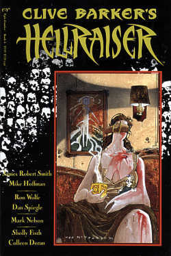 Clive Barker's Hellraiser: Book 5 by Sholly Fisch, Ron Wolfe, Dan Spiegle, James Robert Smith, Mark Nelson, Mike Hoffman, Colleen Doran, Clive Barker