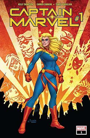 Captain Marvel (2019-) #1 by Kelly Thompson, Paul Mounts, Carmen Carnero, Amanda Conner